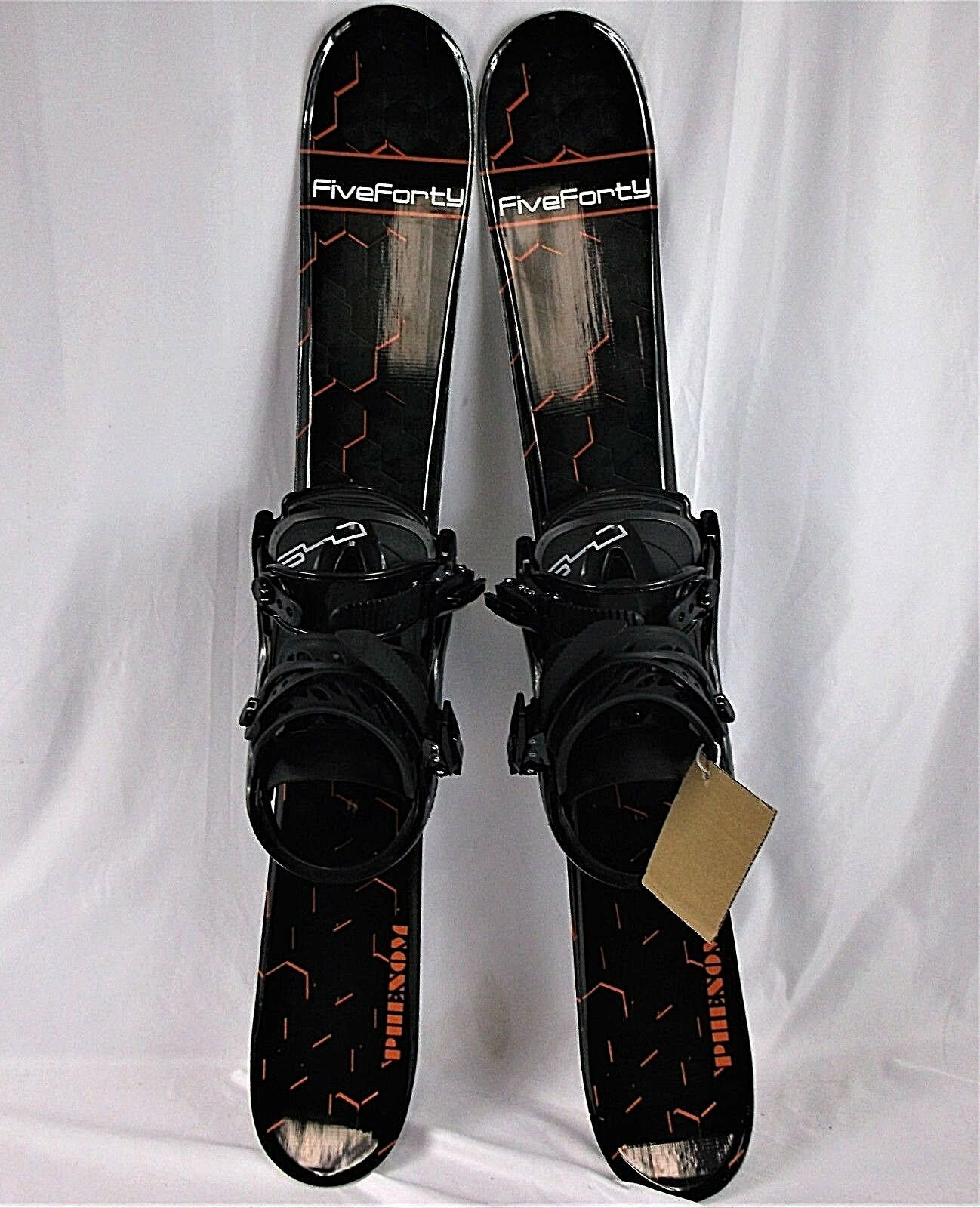 Five-Forty 90 cm Phenom Blades w  FiveForty Snowboard Bindings