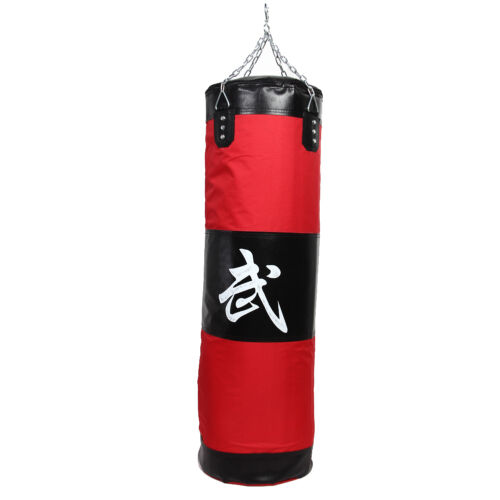 100cm Training MMA Boxing Hook Kick Sandbag Fight Karate Punch Punching Sand Bag