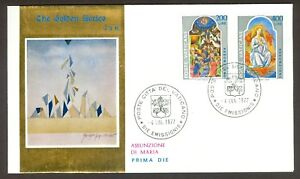 Vatican-City-Sc-615-16-Feast-of-the-Assumption-on-FDC