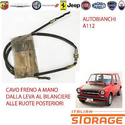 1120260 A112 ABARTH DAL 1977 CAVO COMANDO CONTA KM AUTOBIANCHI A112