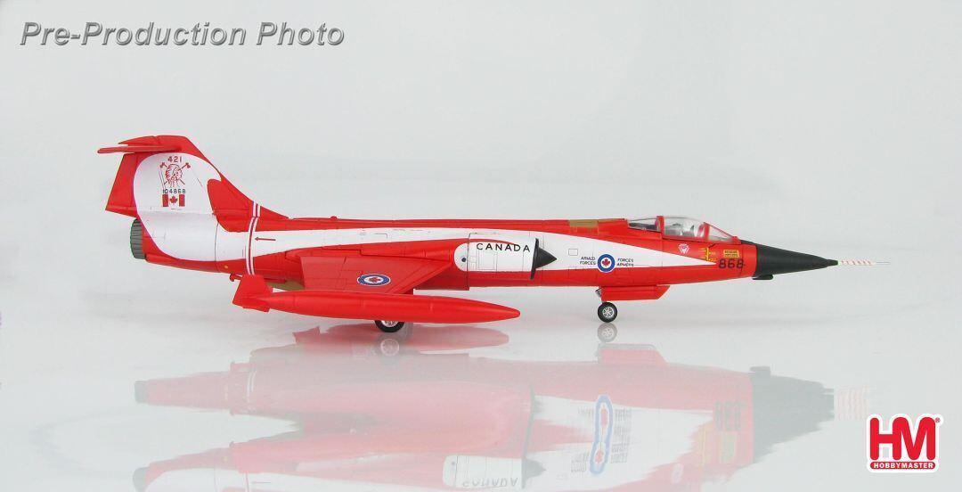 Hobby Master HA1037, CF-104 Starfigher  Coke Bottle , 104868, 421 Squadron, CAF