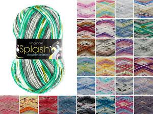 King-Cole-Splash-DK-Knitting-Yarn-Acrylic-100g-Wool