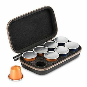 romaunt nc 01b protective carrying case for nespresso capsules ebay