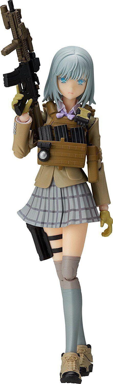Tomytec Figma poco Armería Rokka Shiina non-escala 130 mm Figura De Acción