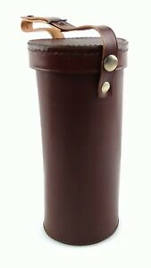 neue-braune-Leder-Tasche-Koecher-fuer-Monokular-Carl-Zeiss-Jena-7x50-10x50-15x50