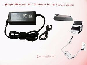 Image Is Loading 4 Prong AC Adapter For HP ScanJet 5400C