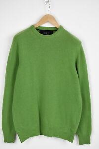 TRUSSARDI-SPORT-Men-039-s-LARGE-Knitted-Wool-Blend-Crew-Pullover-Sweater-28220-JS