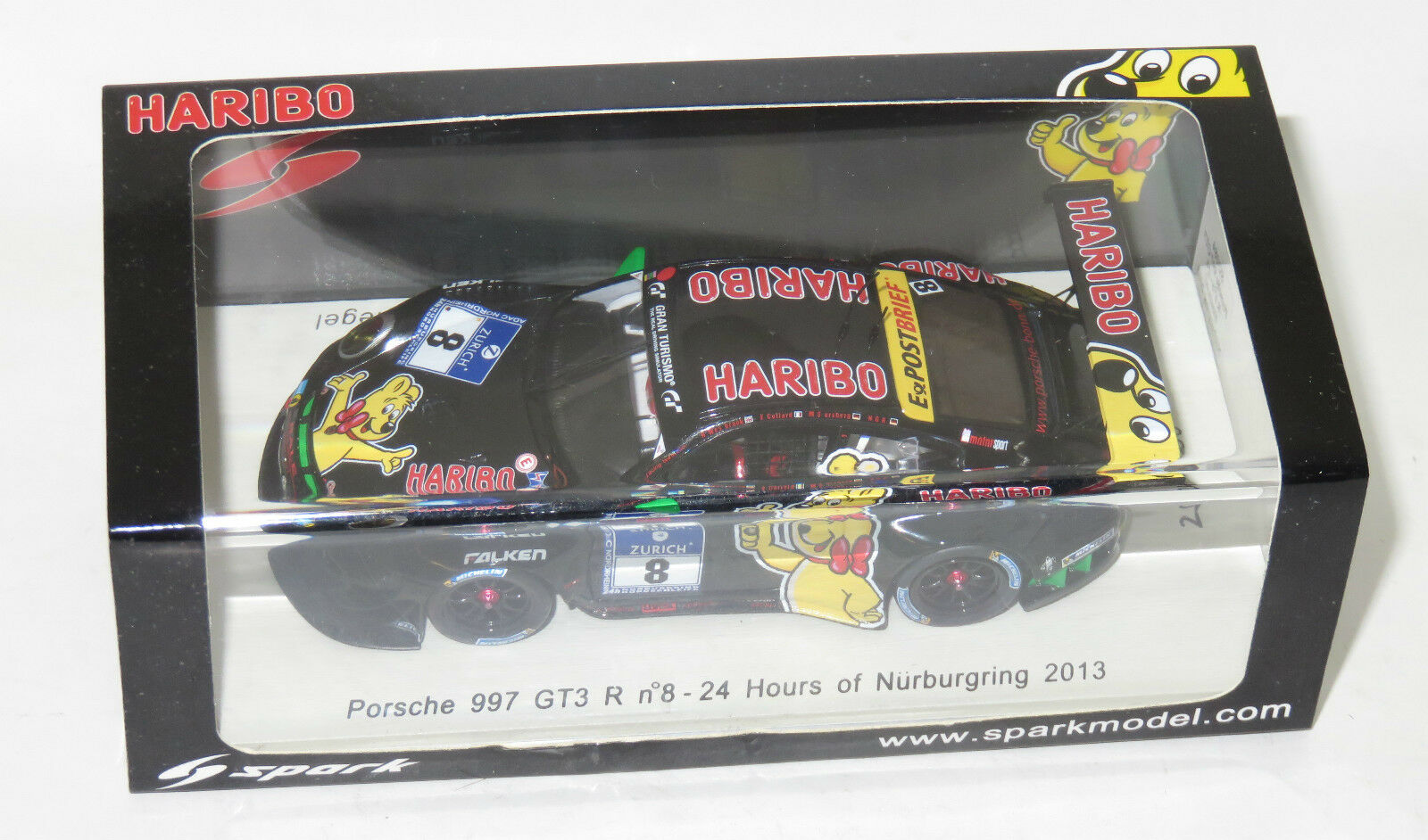 1 43 PORSCHE 997 GT3 R Haribo 24 Heures Nurburgring 2013  8