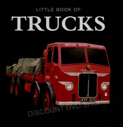 1 of 1 - Little Book of Trucks.New hardback book cellophane wrapped for protection