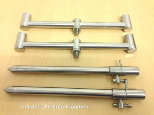 Buzz Bar Set With 2 x 20cm Rod Buzz Bars TBAR 20-30CM Bank sticks Stage Stands