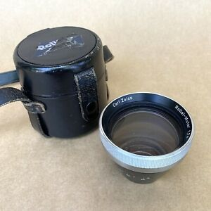Carl-Zeiss-Rollei-Mutar-1-7x-For-Rollei-16-W-Leather-Case-VINTAGE-NICE