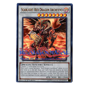 """One Card ONLY! DUDE ULTRA RARE YuGiOh: /""""Scarlight Red Dragon Archfiend/"""""""