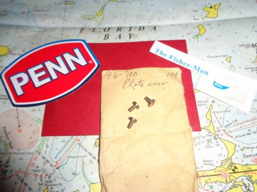 3 Penn Spinfisher 700 Cover Plate Vis nouvelle Penn part 46-700 interrompu Penn