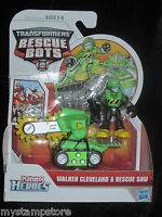 Playskool Heroes Transformers Rescue Bots Walker Cleveland & Rescue Saw Hasbro