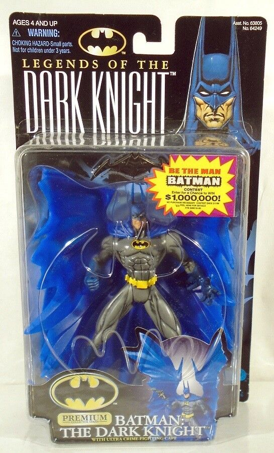 Legends Of The Dark Knight Premium Collector Series Batman With bluee Cape (MOC)