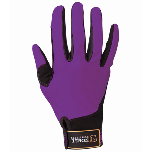 Noble Outfitters Perfect Fit Gloves Blackberry Horse Riding Gloves SALE