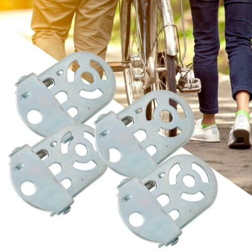 2 Pairs Passenger Pegs Rear Foot Pedal Children Seat Footrest for Bicycle Bike