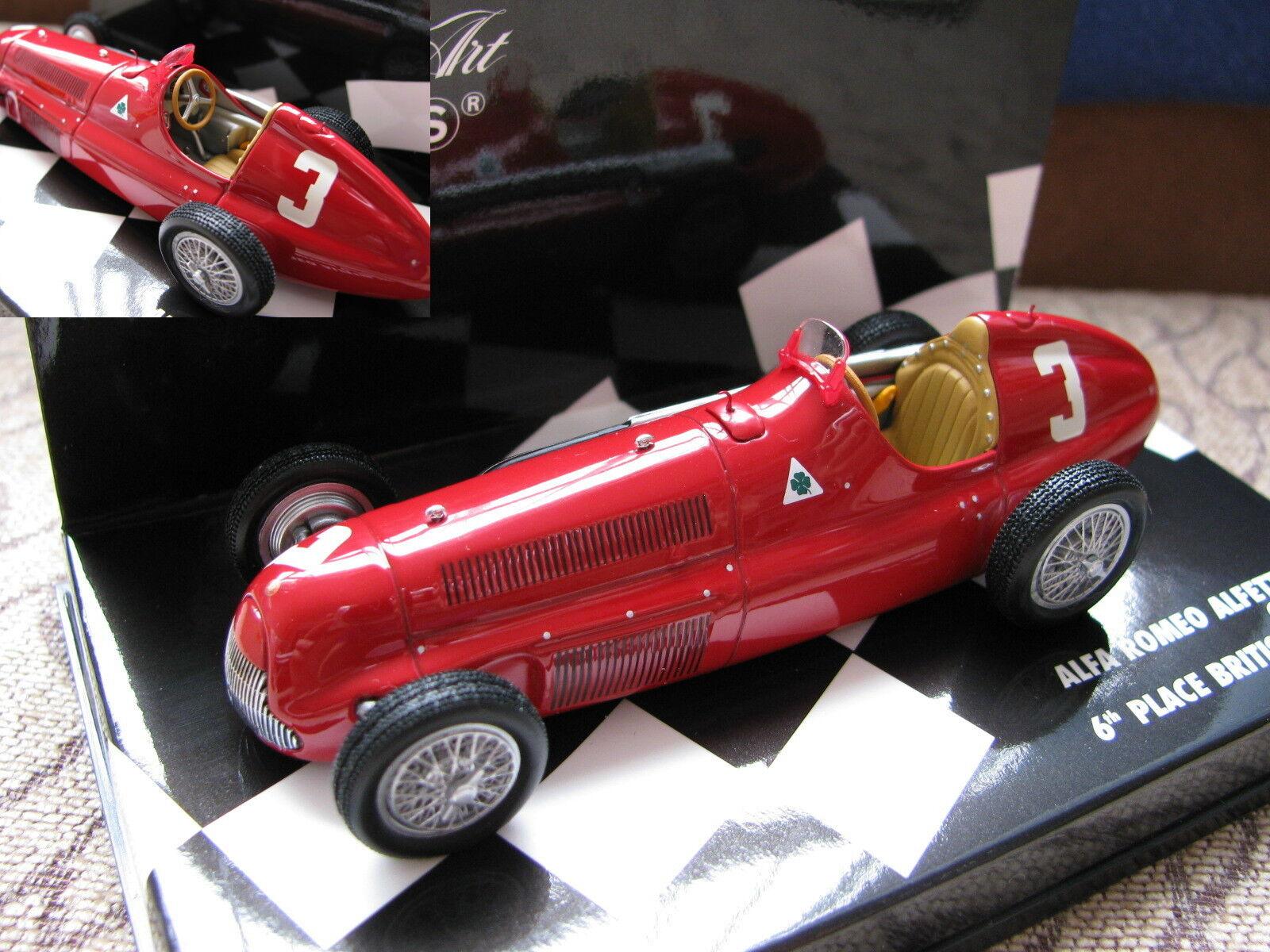 1 43 Minichamps Alfa Romeo Alfetta 159 (1951) Diecast