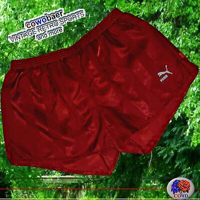 Intellective Vintage Puma Lucentezza Pantaloni Sportivi D9 Xxl... Shorts Pantaloni Lucentezza Shiny Pants Pantaloni-mostra Il Titolo Originale Circolazione Del Sangue Tonificante E Arresto Del Dolore