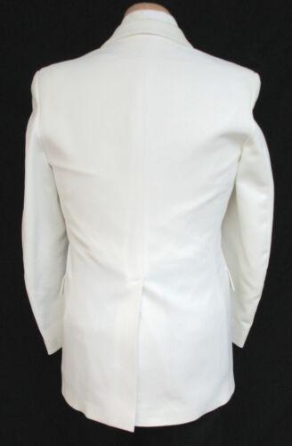 Boy/'s White Tuxedo Dinner Jacket One Button Shawl Costume James Bond Spy 007