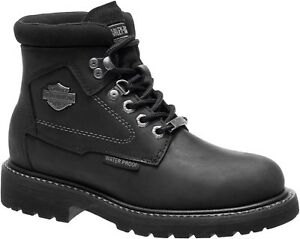 34c6f708205 Details about NEW HARLEY-DAVIDSON WOMEN'S WATERPROOF RIDING MOTORCYCLE  BOOTS D87150 BEDON