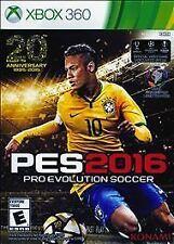 Xbox 360 PES 2016 16 Pro Evolution Soccer NEW Sealed REGION FREE USA Futbol