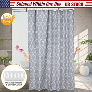 Details About 70x70 Bathroom Shower Curtain Drape Liner Print Polyester Fabric Stall