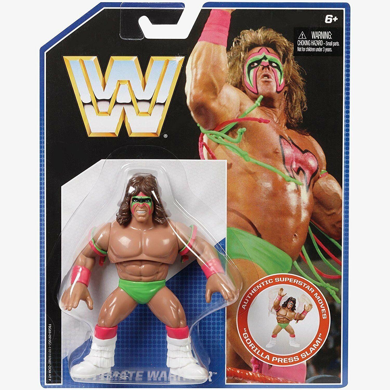 Wwe el Definitivo Guerrero Retro Acción Mattel Serie 1 Figura de Lucha Luchador