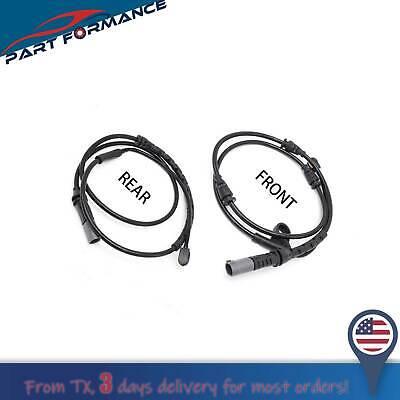 34356854168 BMW X5 Pair New Set of 2 Brake Pad Sensors Front /& Rear 34356792567