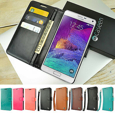 For Samsung Galaxy Note 8 Note 9 S9 S8 Plus Wallet Case Luxury Stand Cover