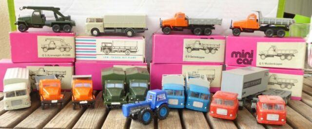 Permot H0 1:87 Prefo , Espewe, Mini Car, IN Set 14 X Models Truck Skoda ,GDR