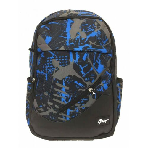 Rucksack mit Laptopfach Tasche Camouflage Backpack Flecktarn Schulrucksack Camo