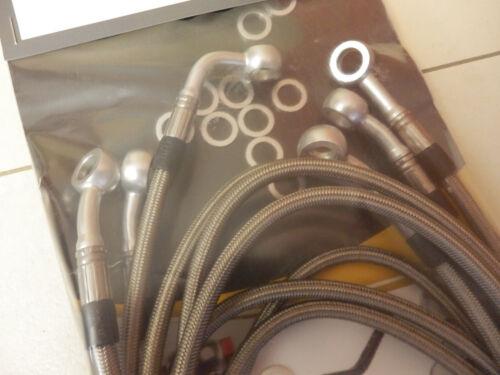SPIEGLER Stahlflex vorne /& hinten /& Kupplung NEU ABE VN1500 VN 1500 VNT50D 1996