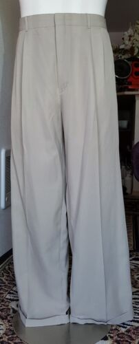 Men's Knightsbridge Khaki Dress Pants 40 x 30