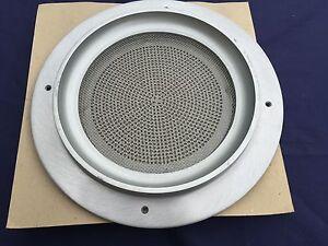 "15 pcs. - ATLAS SOUND VP60-R - BAFFLES 8"" ALUMINUM SPEAKER COVERS - NEW"