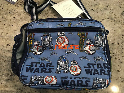 Pottery Barn Kids Mackenzie Cold Pack Lunch Bag Star Wars