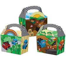 30 MOTOR MADNESS - DIGGERS / CARS / TRUCKS ~ BIRTHDAY PARTY FOOD LUNCH GIFT BOX