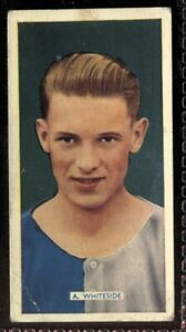 Tobacco-Card-Carreras-POPULAR-FOOTBALLERS-1936-A-Whiteside-Blackburn-Rovers-5