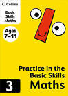 Collins Practice in the Basic Skills - Maths Book 3 by HarperCollins Publishers (Paperback, 2012)
