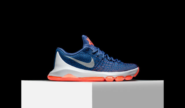 4b573a2147 2016 Nike KD 8 VIII SZ 11 Ocean Fog White Midnight Navy Photo Blue 749375-