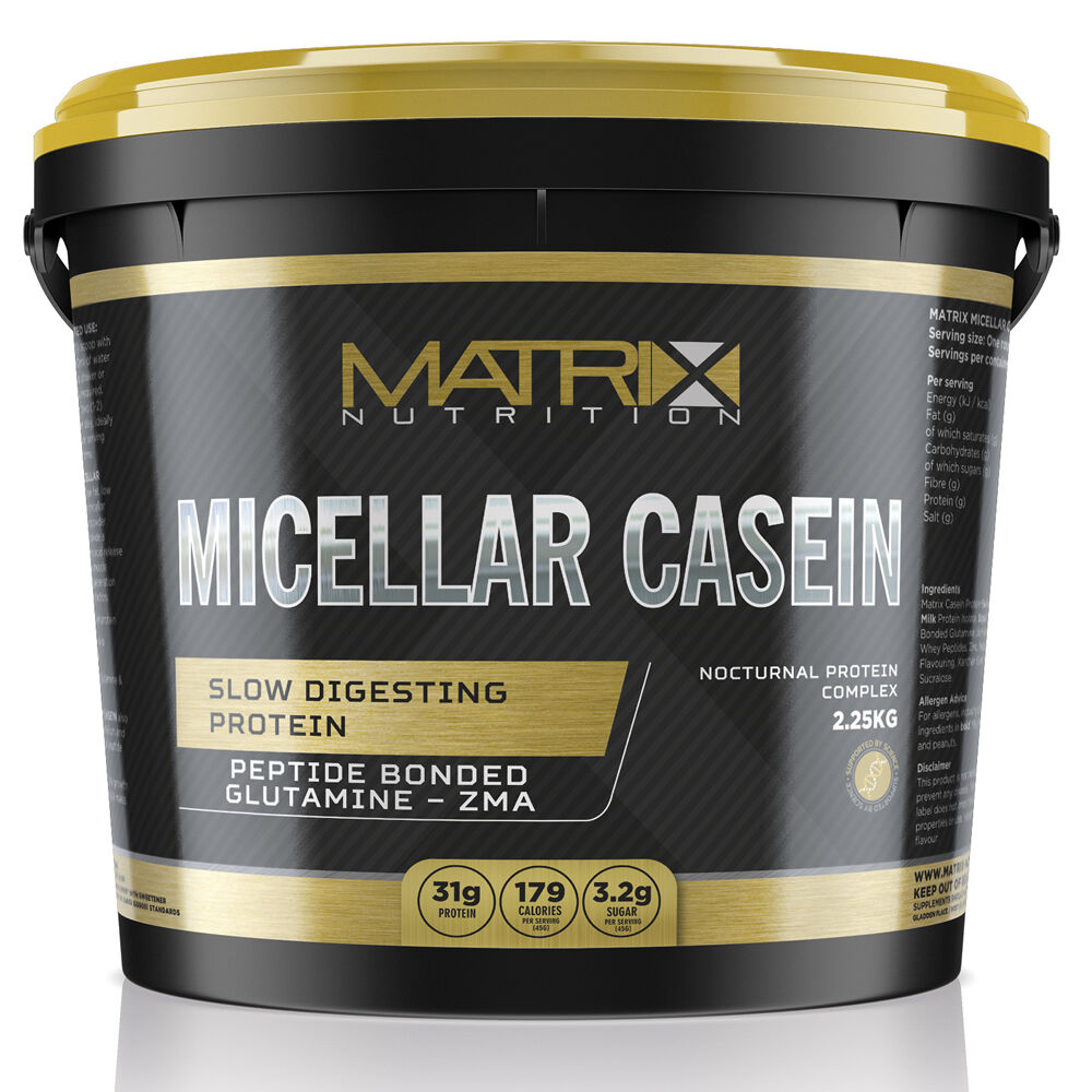 PROTEIN- SLOW GAIN- RELEASE MUSCLE GAIN- SLOW AMINO ACID- CASEIN PROTEIN BY MATRIX 271c02