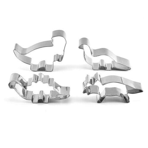 Cookie Cutter Baking Mold Dinosaur Shape Stainless Steel Cake Mold Cooking Tools