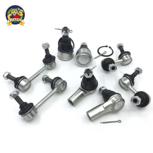 Control Arm Ball Joint Tie Rod End Sway Bar Link Steering Suspension Kit Set 12p