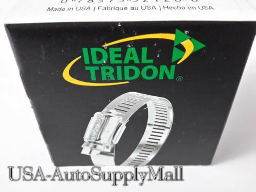 "19- 44mm 100 pcs IDEAL Hose Clamps Size #20 = Made in USA 3//4/"" to 1//3//4/"""