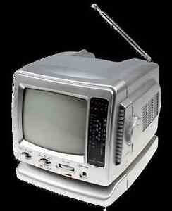 universal petit t l viseur tv cr 503 noir blanc pour auslandsempfang ebay. Black Bedroom Furniture Sets. Home Design Ideas