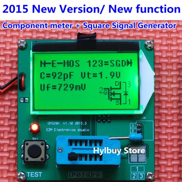 LCR All-in-1 Component Tester Transistor Diode Capacitance ESR Meter Inductance