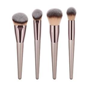 4pcs-Coffee-Gold-Pro-Champagne-Cosmetic-Brushes-Set-Foundation-Blush-Brush-JT1