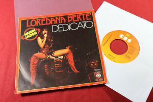Loredana-Berte-DEDICATO-AMICO-GIORNO-7-039-039-Single-CBS-6832-Germany-1978
