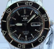 SEIKO 5 SPORTS BRAND NEW MENS AUTOMATIC 100m WATCH SNZH55J1. MADE IN JAPAN