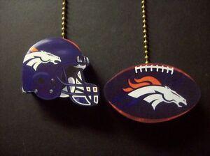 Image Is Loading 2 Denver Bronco Broncos Helmet Football Ceiling Fan